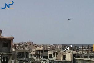 حملة عسكرية روسية ضحمة على بادية دير الزور الغربية الجنوبية